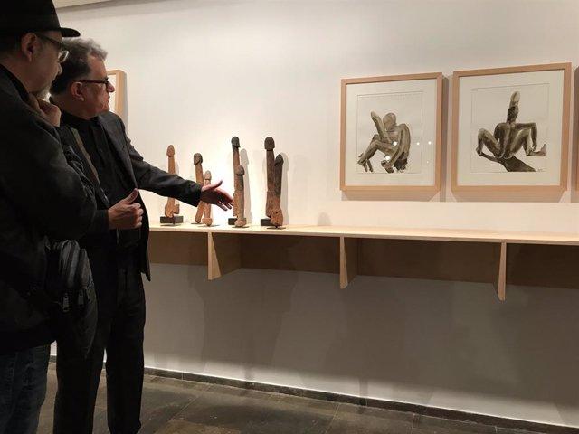 El director del Institut Valenci d'Art Modern (IVAM) José Miguel G. Cortés presenta 'El gabinete secreto de Miquel Navarro'