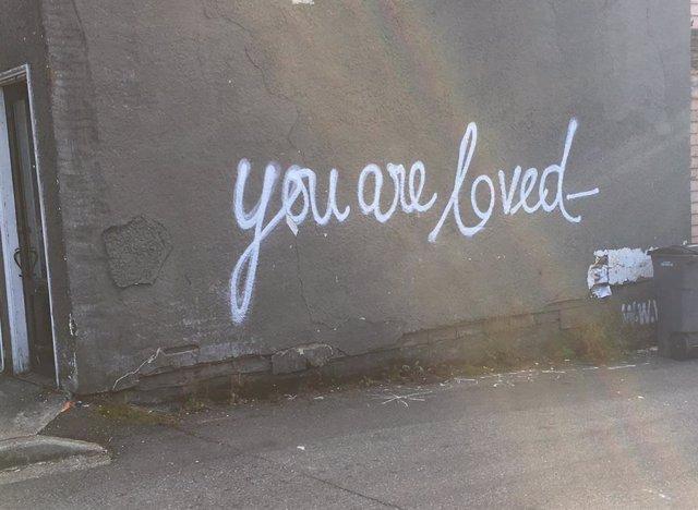 El grafiti como medio artístico para divulgar mensajes positivos