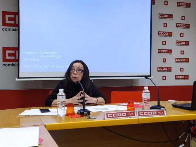 Isabel Galvín, secretaria general de la Federación de Enseñanza de CCOO