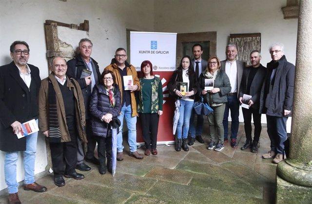 Presentación de la campaña de lectura de los ganadores del XXV premio San Clemente Rosalía-Abanca