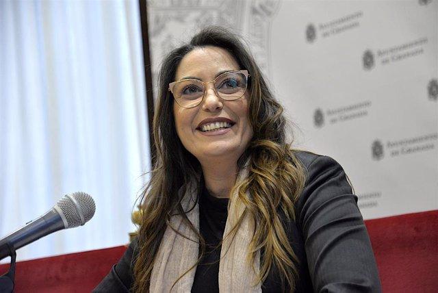 La concejal de Cultura del Ayuntamiento de Granada, Lucía Garrido