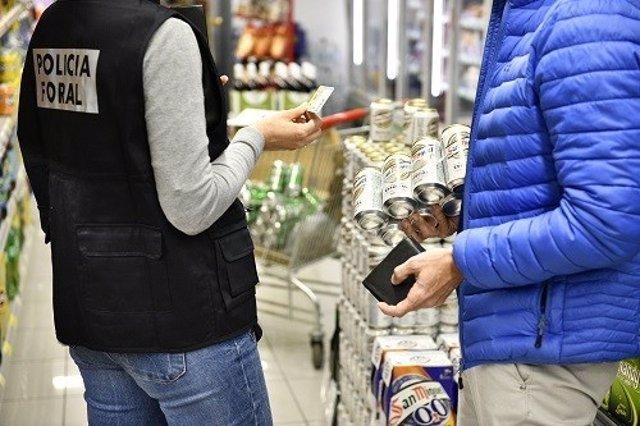 Control de edad a un comprador de bebidas alcohólicas