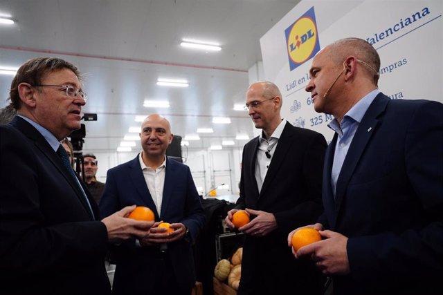Inauguración centro logístico de Lidl