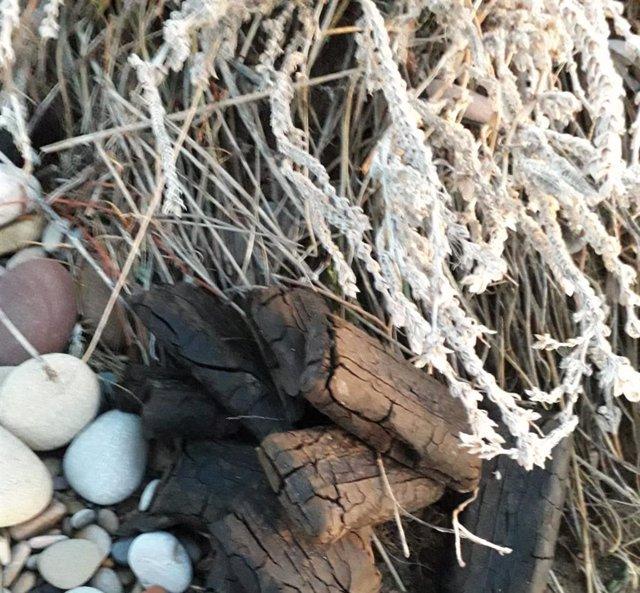 Aparece hachís en la playa de Moncófa