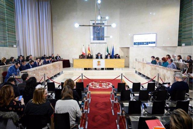 Pleno del Ayuntamiento de Almería