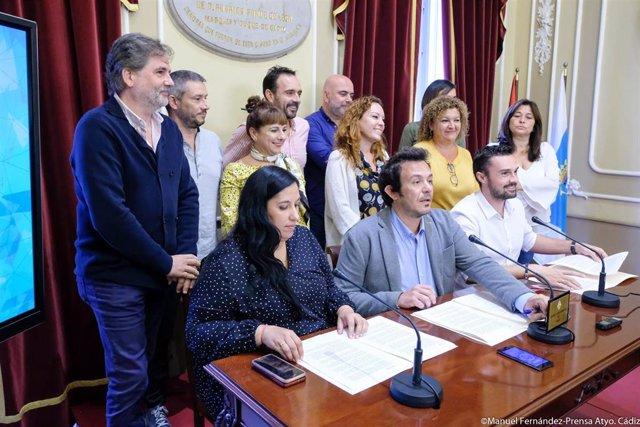 Equipo de gobierno del Ayuntamiento de Cádiz