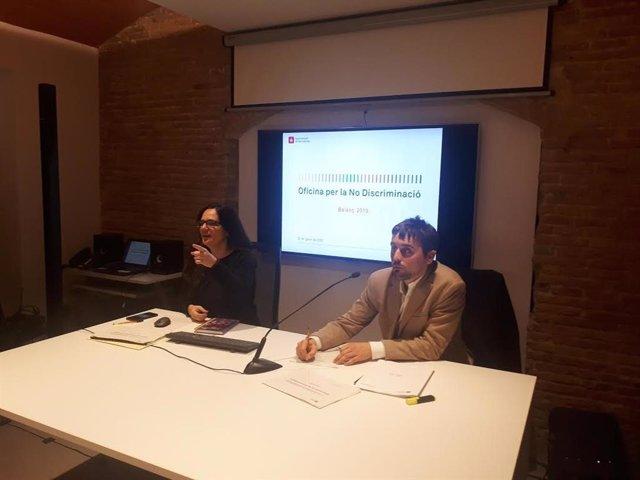 Aida Sanuy y Marc Serra