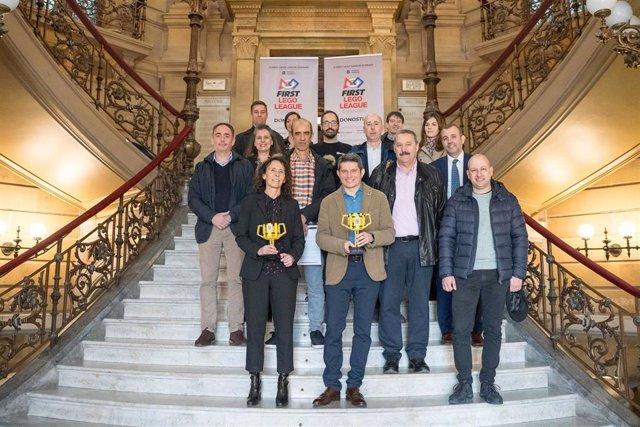 Presentación de First Lego League Euskadi.