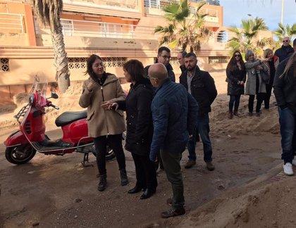 """Bonig pide a Puig y Sánchez que las ayudas por los daños del temporal Glòria lleguen """"cuanto antes"""""""