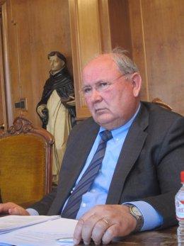 El presidente de la FEREBRO, César Trillo.