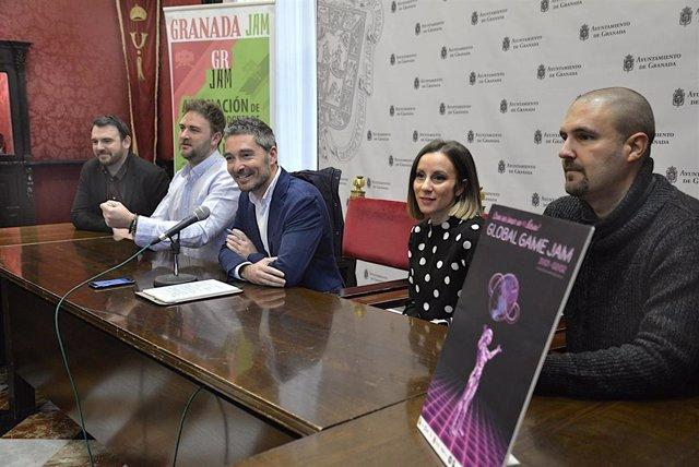 Imagen de la presentación de la 'Global Game Jam' que se celebrará en Granada