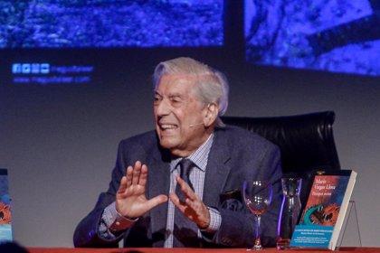 Mario Vargas Llosa, Premio Francisco Umbral por su novela 'Tiempos recios'
