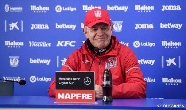 """Fútbol/Copa.- Aguirre: """"Tenemos el afán de pasar y a un partido tenemos legítima"""