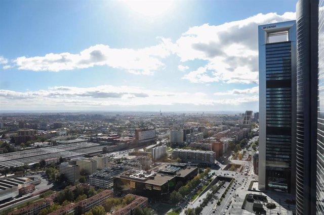 Fotos de recurso del proyecto urbanistico Madrid Nuevo Norte. Madrid (España).
