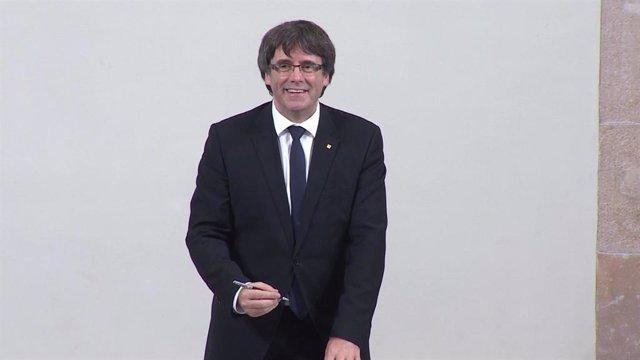 L'expresident de Catalunya, Carles Puigdemont (arxiu).