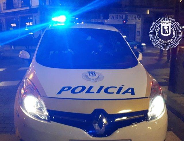 Imagen de recurso de un coche patrulla de la Policía Municipal de Madrid.