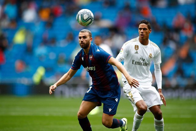 Fútbol/Primera.- El Real Madrid visitará al Levante el sábado 22 a las 21.00 hor