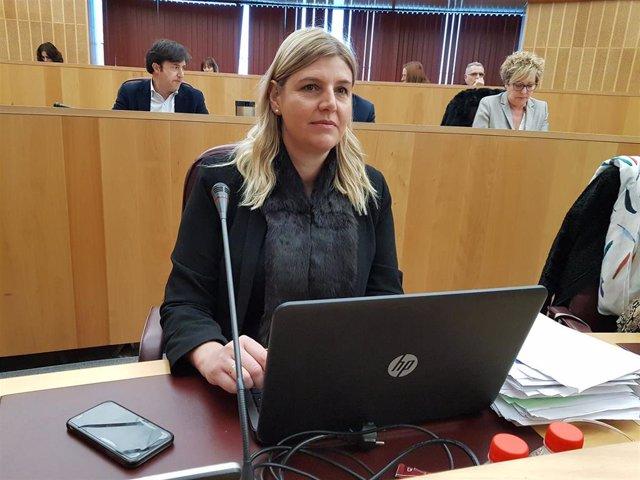 La portavoz adjunta del PP en la Diputación de Granada, Inmaculada Hernández