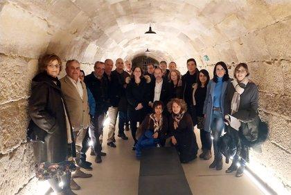 Los socios de la Ruta del Vino de Rioja Alta mantienen su primera reunión para buscar conexiones y sinergias