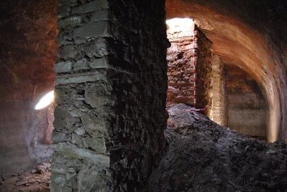 El Castillo de Nalda inicia una nueva campaña de trabajos de consolidación en la zona del frente norte