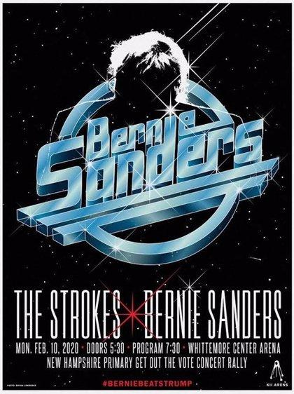 The Strokes participarán en un mitin del demócrata Bernie Sanders