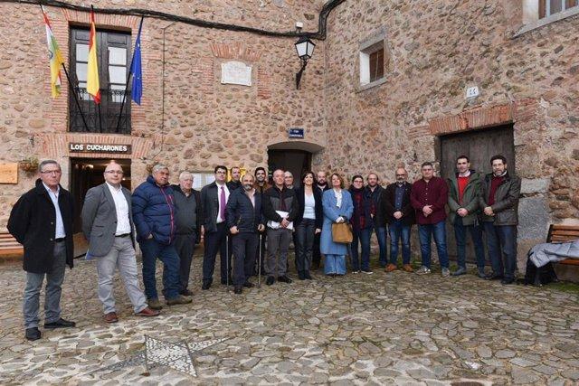 Reunión del Ejecutivo regional con alcaldes de la comarca del Camero Nuevo