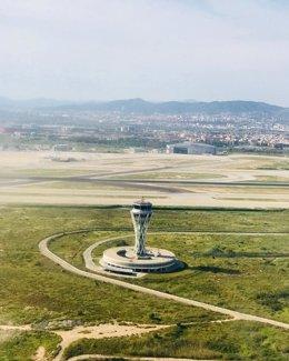 Torre de control de ENAIRE en Barcelona