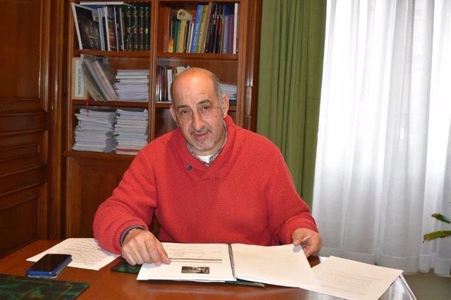 El diputado de Deportes, Gustavo Adolfo Marín.