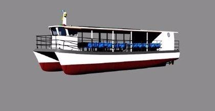 """Construyen un barco solar que ofrecerá una """"experiencia sobrecogedora"""" en Hornachuelos (Córdoba)"""