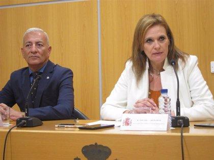 """La delegada del Gobierno defiende que la actuación policial en Agroexpo ha sido """"proporcional"""""""