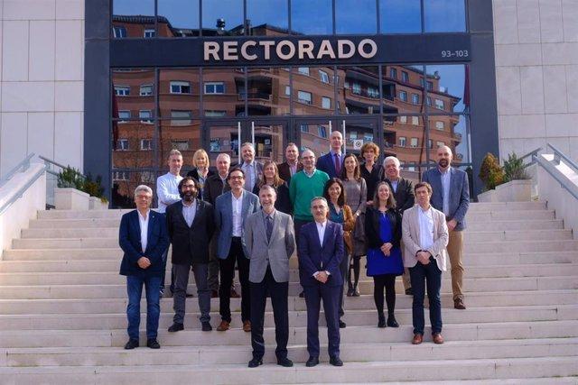 La Universidad de La Rioja y la Universidad de Burgos desarrollarán iniciativas conjuntas en el ámbito tecnológico, deportivo, histórico y enológico