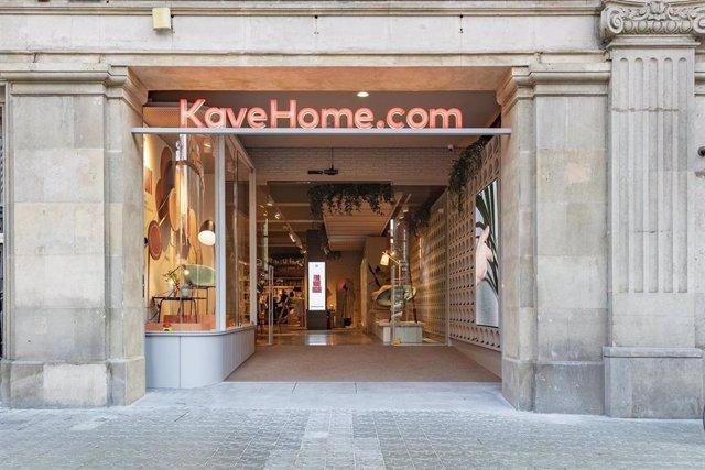 Tienda Kave Home en Barcelona.
