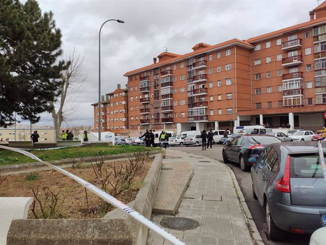 Lugar De Los Hechos Minutos Después Del Tiroteo En La Calle Maestro Soler De Salamanca.