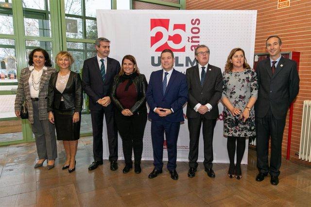El presidente de C-LM, Emiliano García-Page, en la celebración del 25 aniversario de la UCLM en Talavera.