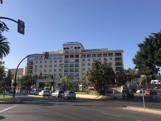 Hospital Regional de Málaga en una imagen de archivo