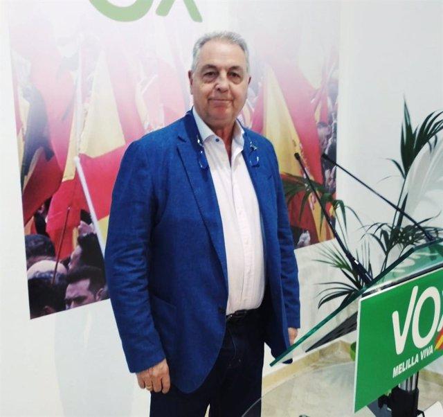 Jesús Delgado Aboy, expresidente de Vox en Melilla y diputado
