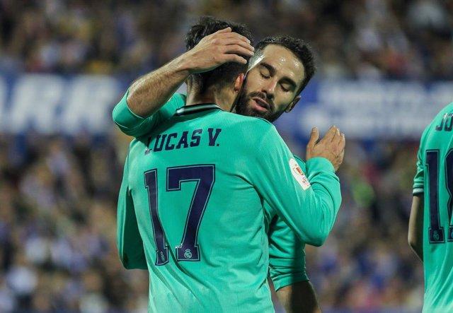 """Fútbol/Copa.- Carvajal: """"Nos quedan tres partidos para estar en la final y vamos"""