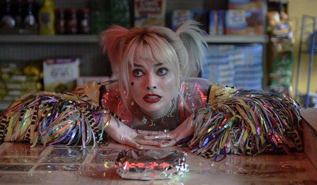 Margot Robbie protagoniza Aves de presa como Harley Quinn