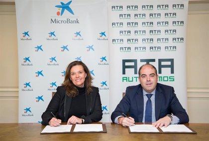 ATA Autónomos y MicroBank suscriben un convenio para fomentar el autoempleo y la actividad emprendedora