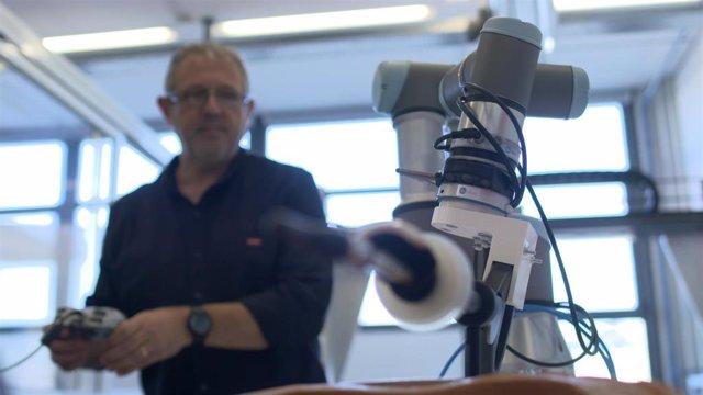 Robot diseñado por investigadores de la Politcnica