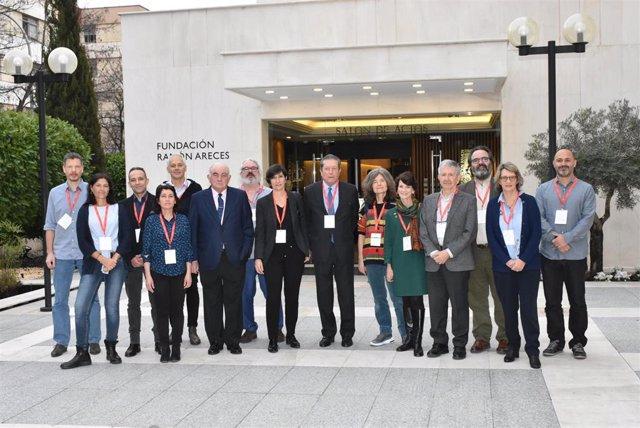 Ponentes del simposio internacional sobre trastornos visuales del neurodesarrollo en la sede de la Fundación Areces.