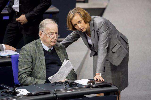 Alexander Gauland, líder del grupo parlamentario de Alternativa para Alemania