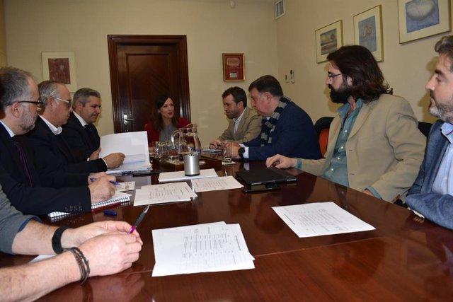 Reunión de la subcomisión técnica para el Conservatorio Superior de Música de Jaén