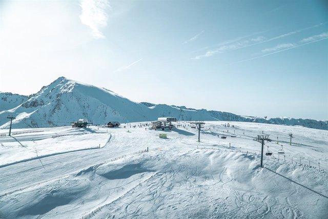 Pista de esquí de Grandvalira.