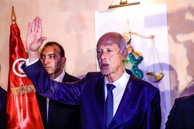 El presidente de Túnez, Kais Saied