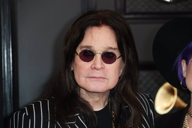 January 26, 2020 - Los Angeles, California, United States:: Ozzy Osbourne arriving at the 62nd GRAMMY Awards at STAPLES Center in Los Angeles, CA.(Allen J. Schaben / Los Angeles Times / Contacto)