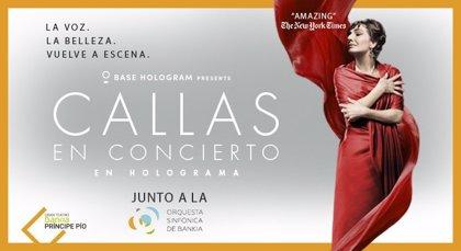 El holograma de María Callas llega a Madrid
