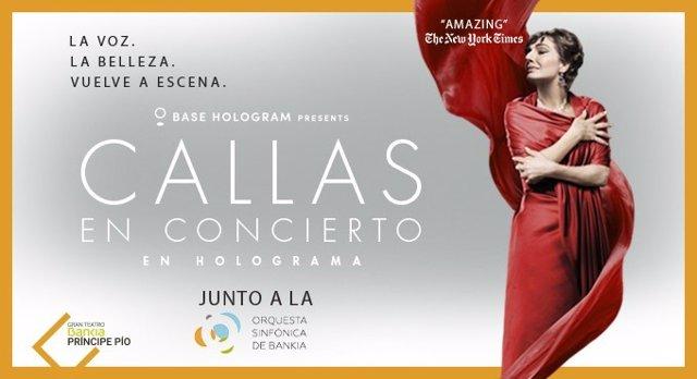 El holograma de María Callas