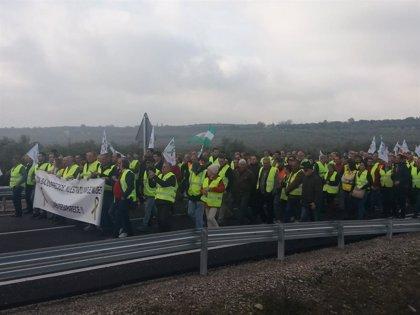 Circulación normal en todas las carreteras de la provincia de Jaén afectadas por las protestas de los olivareros