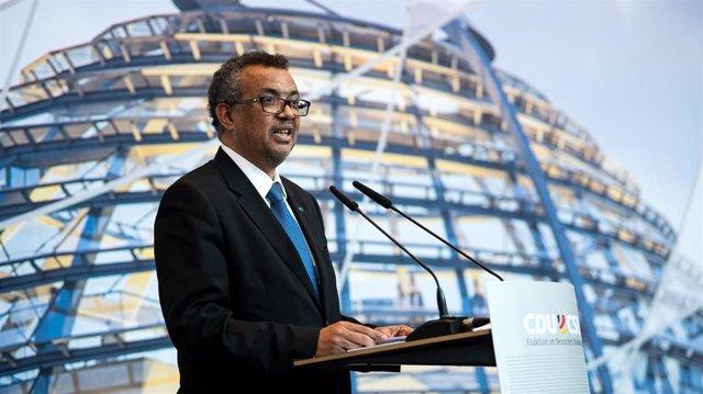 El director general de la Organización Mundial de la Salud (OMS), Tedros Adhanom Ghebreyesus